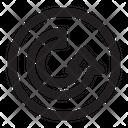 Arrow Symbol Desing Icon