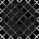 Copy Symbol Desing Icon