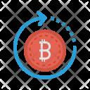Reload bitcoin Icon