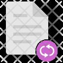 Reload Doc Document Icon