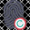 Reload Fingerprint Fingerprint Thumb Icon