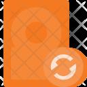 Reload harddisk Icon