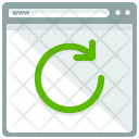 Rotate Webpage Reload Icon