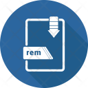Rem File Format Icon