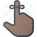 Reminder Finger Bow Icon