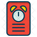 Reminder Clock Timer Icon