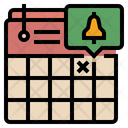 Reminder Calendar Deadline Icon