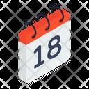 Calendar Reminder Planner Icon