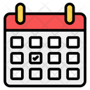 Reminder Schedule Planner Daybook Icon