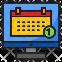 Reminder Calendar Date Icon