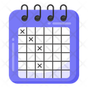 Calendar Appointment Reminder Icon