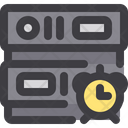 Alarm Clock Reminder Data Database Icon