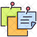 Reminder Paper Sticky Notes Notes Icon