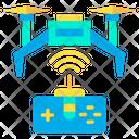 Drone Signal Remote Control Range Remote Control Signal Icon