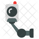 Remote Security Surveillance Icon