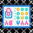 Remote Controle Color Icon