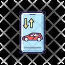 Remote Car Access Icon