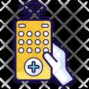 Wireless Remote Remote Control Tv Remote Icon