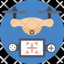 Remote Drone Spy Icon
