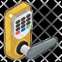 Door Handle Remote Door Lock Smart Lock Icon