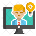 Remote Learning Online Education Online Learning Icon