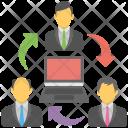 Remote Staff Icon