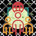 Remote team Icon