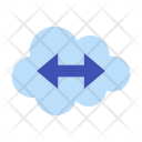 Remote Working Cloud Icon