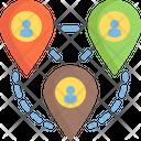 Digital Nomad Freelance Work Icon