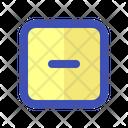 Interface Minus Remove Icon