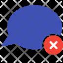 Remove Delete Talk Icon