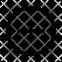 Cancel Circle Collapse Icon