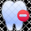 Remove Delete Dental Icon