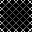 Minus Square Delete Icon