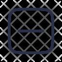 Minus Calculation Calculator Icon