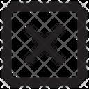Remove Sq Fr Remove Delete Icon