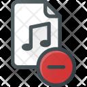 Remove File Audio Icon