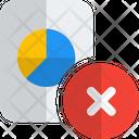 Remove Analysis Report Bar Chart Paper Minus Delete Report Icon