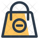 Remove Commerce Bag Icon