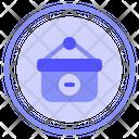 Remove Commerce Bag Icon