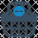 Basket Cancel Delete Icon