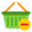 Remove Basket Remove Item From Basket Basket Icon