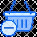 Remove Basket Basket Shopping Icon