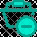 Remove Basket Remove Cart Remove Item Icon
