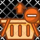 Remove Basket Basket From Basket Shopping Basket Icon