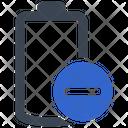 Negative Remove Minus Icon