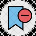 Remove Bookmark Remove Bookmark Icon