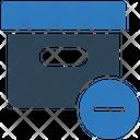 Remove Box Parcel Box Icon