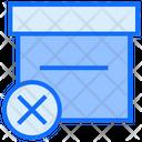 Remove Box Box Archive Icon