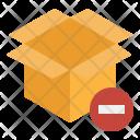 Remove Box Unbox Icon